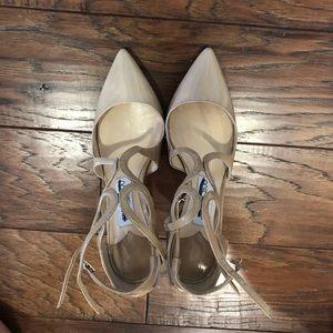 Jimmy Choo high heels in patterned nude size 36.5